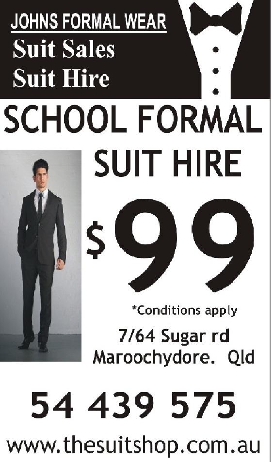 Johns Formalwear SF